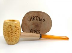 Missouri Meerschaum - Cartago Pipes