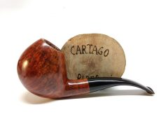 W.O. Larsen Cartago Pipes New & Estate Pipes Shop.