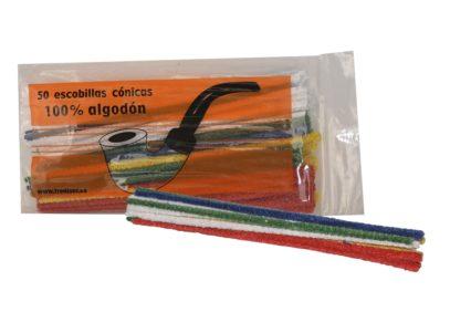 Escobillas de algodón de colores Cartago Pipes New & Estate Pipes Shop.