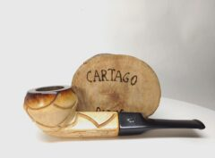 Tanganyika Meerschaum Corporation Cartago Pipes New & Estate Pipes Shop.